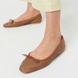 Brown ASOS Flats